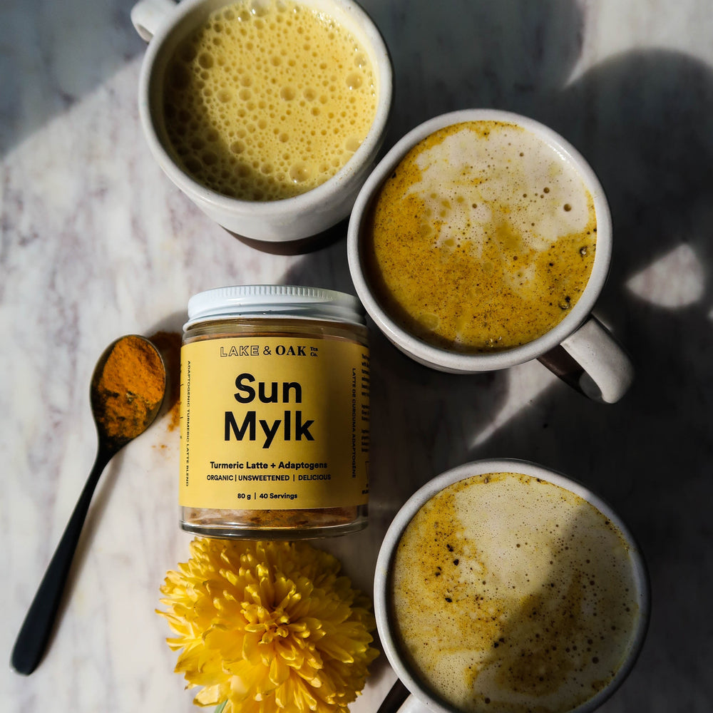 Lake & Oak Tea Co - Sun Mylk - Turmeric Latte Adaptogen Blend
