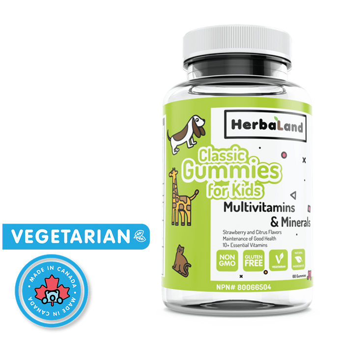 Herbaland Classic Gummy for Kids: Multi-vitamin (60 count)
