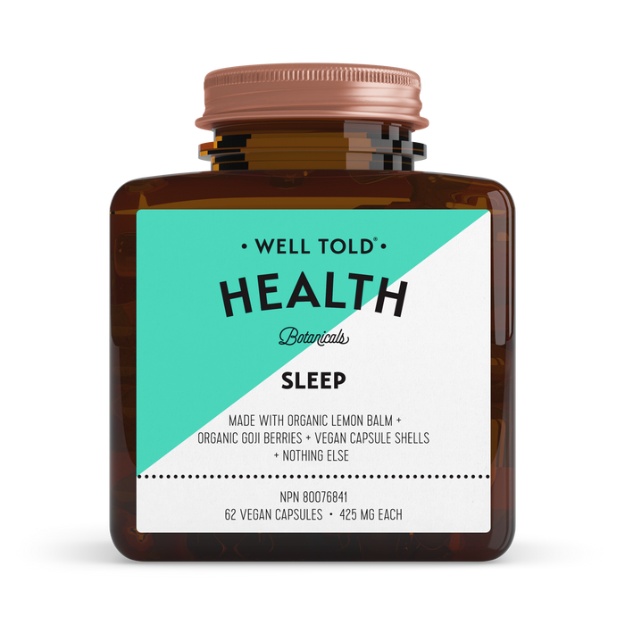 Well Told Health: Sleep