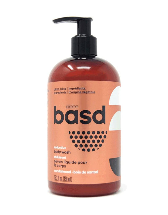basd- Seductive Sandalwood Body Wash (450 ml)
