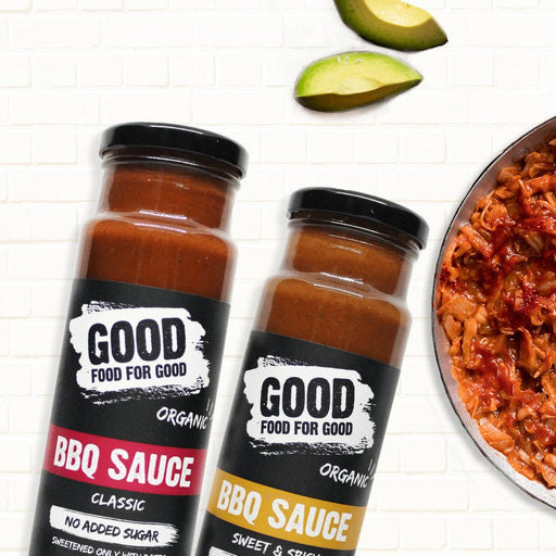 Good Food For Good Organic Classic BBQ 250ml