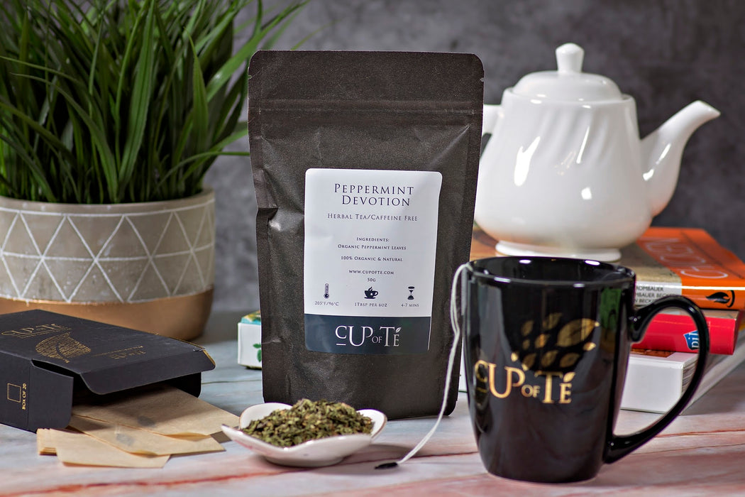 Cup of Te: Organic Peppermint Devotion Tea (50g)