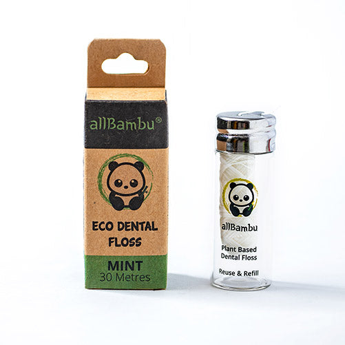 allBambu - Eco Dental Floss - Mint