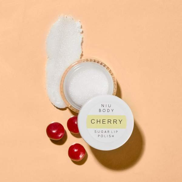 NIU BODY- Cherry Sugar Lip Polish