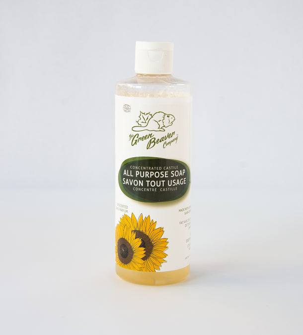 Green Beaver All Purpose Castille Soap Unscented 495ml