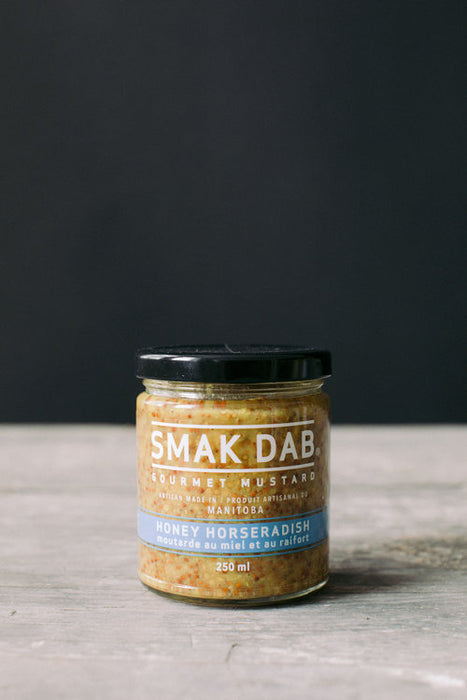 Smak Dab Mustard: Honey Horseradish - 250ml