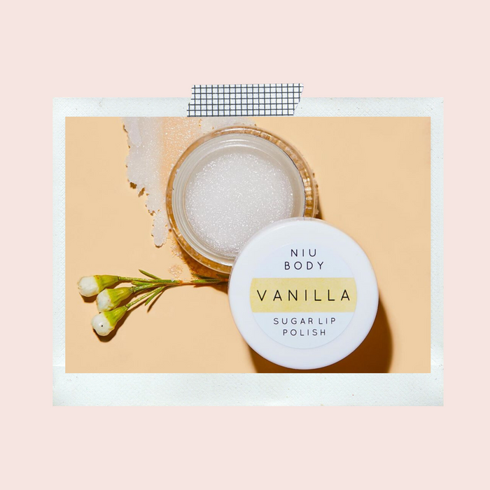 NIU BODY - Vanilla Sugar Lip Polish