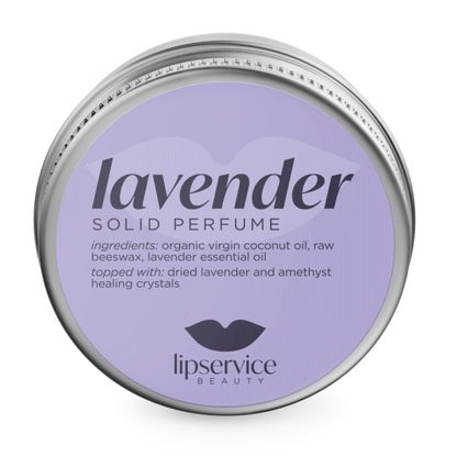 The Lip Service - Lavender Solid Perfume Salve