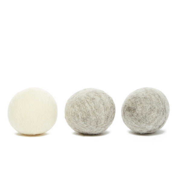 The Unscented Company: Wool Dryer Balls, Pack of 3