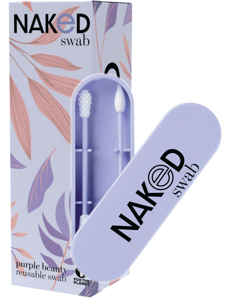 Naked Swab - Purple Beauty Reusable Q-Tip