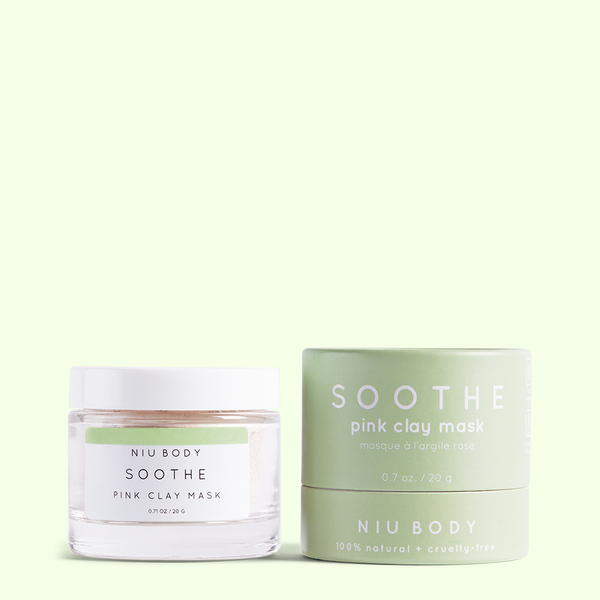 NIU BODY - Soothe Pink Clay Mask