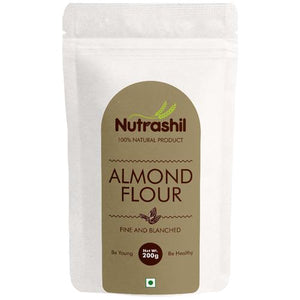 Almond Flour - 200 gms - V-Circle Wellness