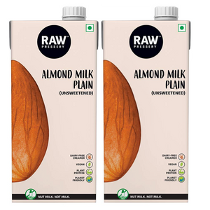 Almond Milk Unsweetened (1 Ltr x 2) - V-Circle Wellness
