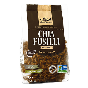 Chia Fusilli (227g) - V-Circle Wellness