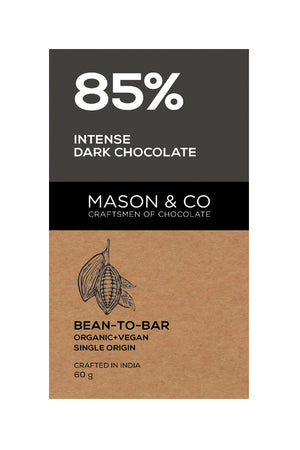 85% Intense Dark Chocolate - V-Circle Wellness