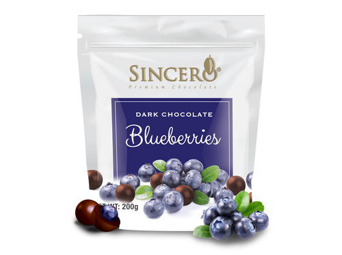 Blueberry Coated with Dark Chocolate 120 g