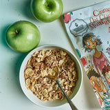 Cereal - Cinnamon Oat Clusters & Multigrain Flakes With Apple 350 gms - V-Circle Wellness