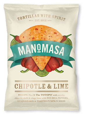 Tortilla Chips - Chipotle and Lime 160g - V-Circle Wellness
