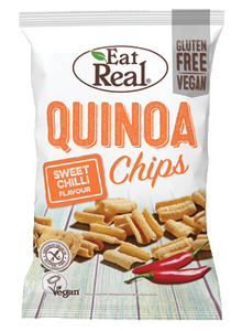 100% Vegan Quinoa Chips - Sweet Chilli 30g