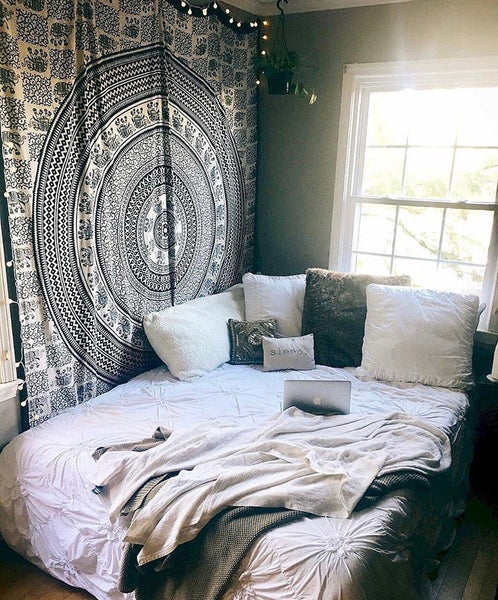 Use Wall Tapestries to Dress Up Your Dorm or Room