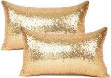 Load image into Gallery viewer, Metallic Gold Pillows - Tapestry Girls