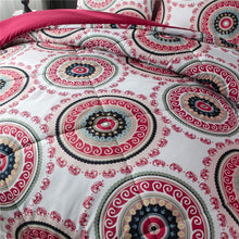 Load image into Gallery viewer, Red Mandala Bedding - Tapestry Girls