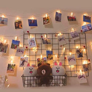 30 LED Photo Clips - Tapestry Girls