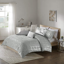 Load image into Gallery viewer, The Metallic Grey Bed Set - Tapestry Girls