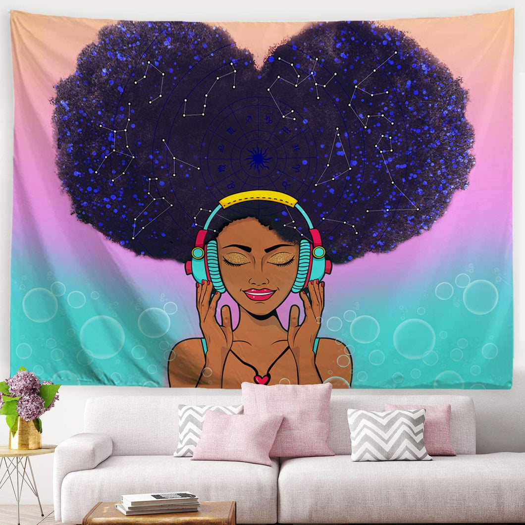 Afro Music Tapestry - Tapestry Girls