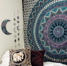 Load image into Gallery viewer, Amethyst Mandala Tapestry - Tapestry Girls