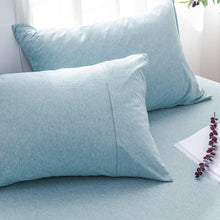 Load image into Gallery viewer, The Loft Aqua Pillow Case Set - Tapestry Girls