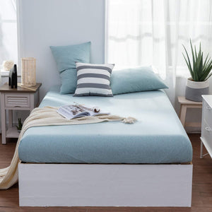 The Loft Aqua Fitted Sheet Set - Tapestry Girls
