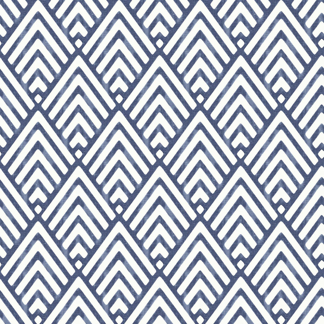 Blue Arrowhead Removable Wallpaper - Tapestry Girls
