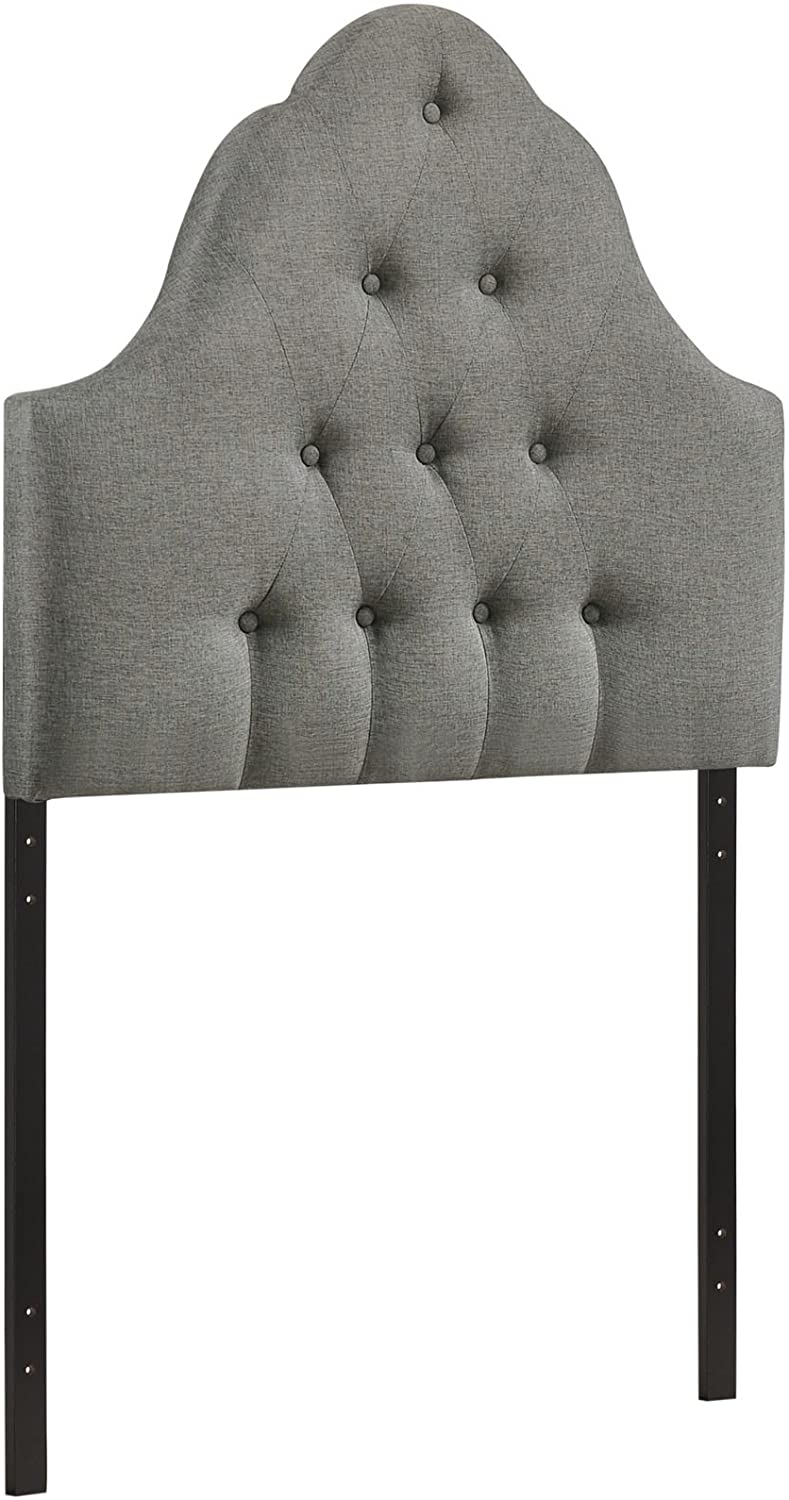 Ava Gray Fabric Headboard - Tapestry Girls