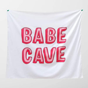 The Babe Cave Tapestry - Tapestry Girls