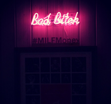 Load image into Gallery viewer, Bad B*tch Neon Sign - Tapestry Girls
