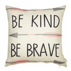 Be Brave Pillow - Tapestry Girls