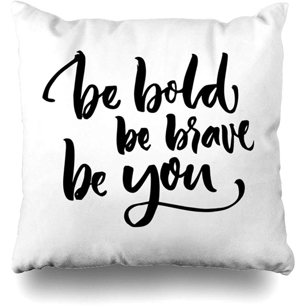 Be Bold Pillow - Tapestry Girls