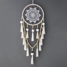 Load image into Gallery viewer, Beaded Macrame Dreamcatcher - Tapestry Girls
