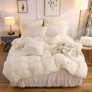 The Softy Beige Bed Set - Tapestry Girls