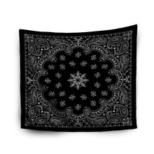 Load image into Gallery viewer, Black Paisley Tapestry - Tapestry Girls