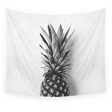 Load image into Gallery viewer, Black and White Pineapple Tapestry - Tapestry Girls