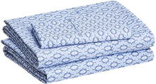 Load image into Gallery viewer, Damask Blue Sheet Sets - Tapestry Girls