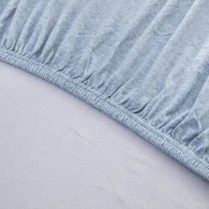 The Loft Blue Fitted Sheet Set - Tapestry Girls