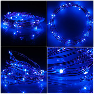 Blue LED Fairy Lights - Tapestry Girls