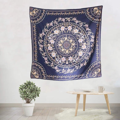 Navy Floral Tapestry - Tapestry Girls