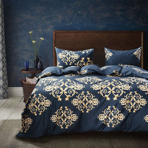 Blue Gold Bedding - Tapestry Girls