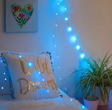 Load image into Gallery viewer, Blue LED Fairy Lights - Tapestry Girls