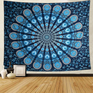 Cool Blue Tapestry - Tapestry Girls