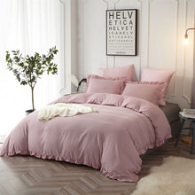 Load image into Gallery viewer, The Ruffled Blush Bed Set - Tapestry Girls